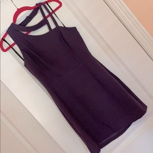 BCBGeneration Dress with Asymmetrical Neckline NWT